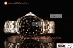 Omega Seamaster 300M Swiss ETA 2824 Automatic Steel Case With Black Dial And Ceramic Bezel 007 Limited Edition
